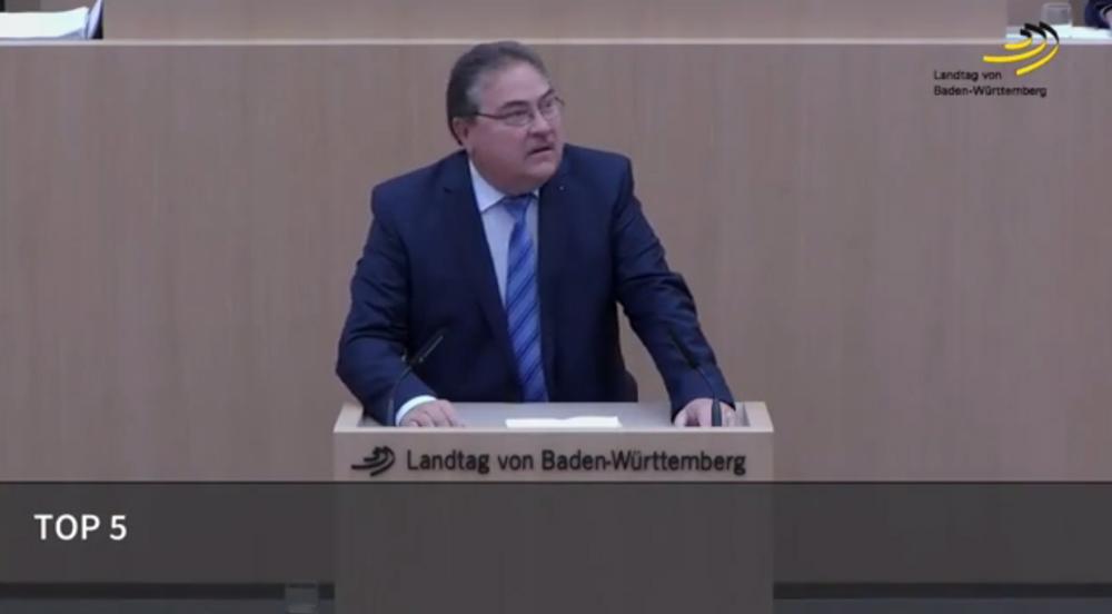 Landtagsrede zur Schuldenbremse