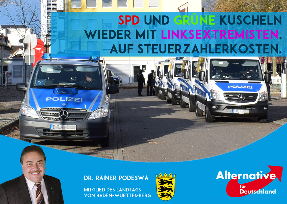 SPD und Grüne gemeinsam mit Linksextremisten beim Steuern verschwenden