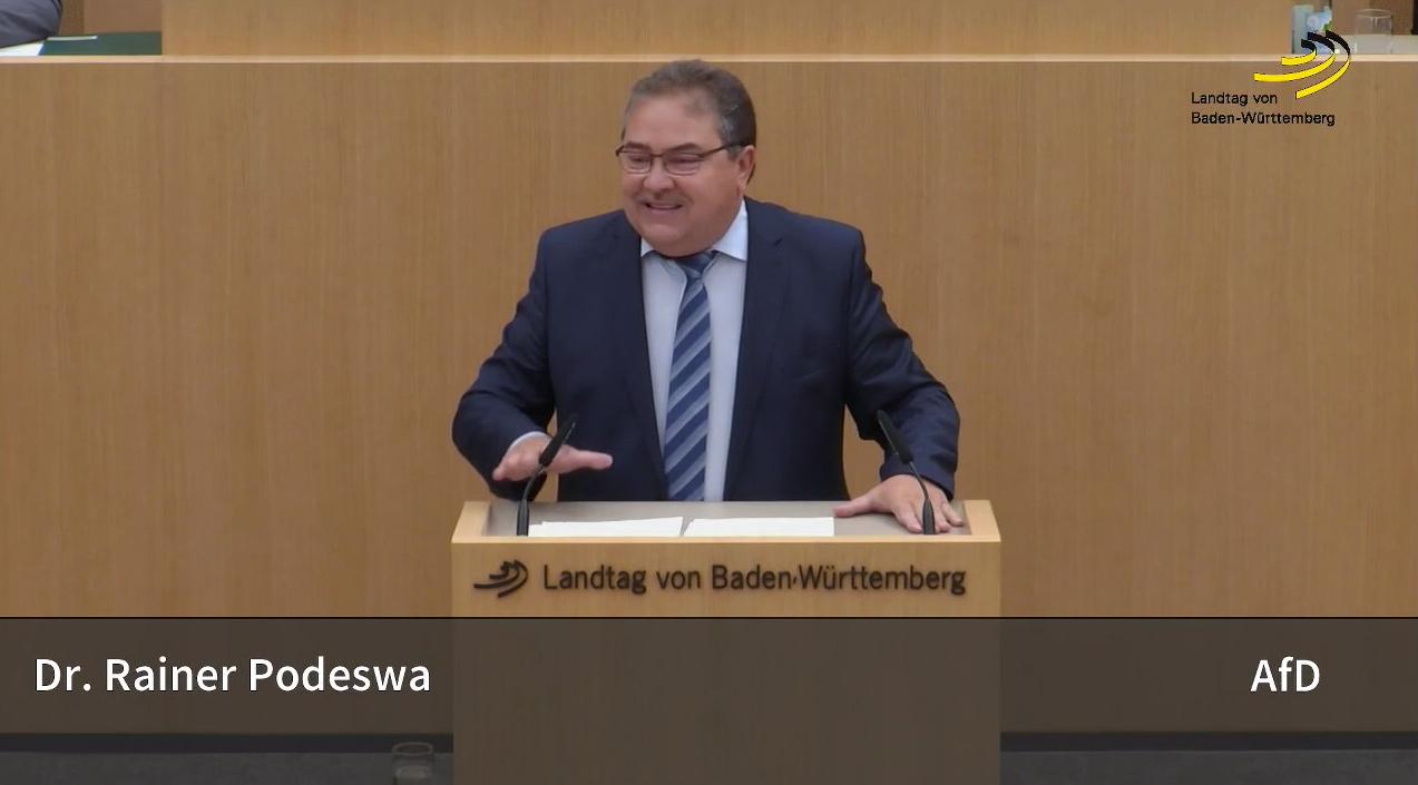 Landtagsrede zu Fahrverboten: postfaktischer Wahnsinn und Wahllügen