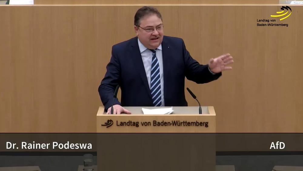 Landtagsrede: Dr. Podeswa zum Landesbesoldungsgesetz