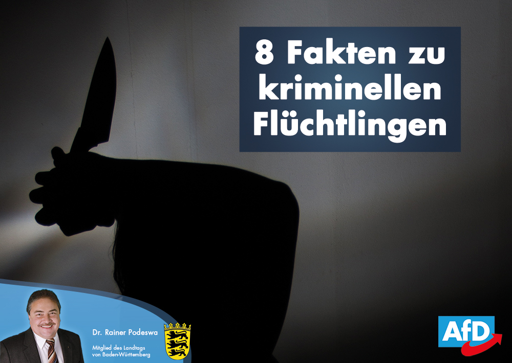 8 Fakten zur Flüchtlings-Kriminalität