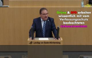 SPD und Grüne kooperieren offiziell mit Verfassungsfeinden