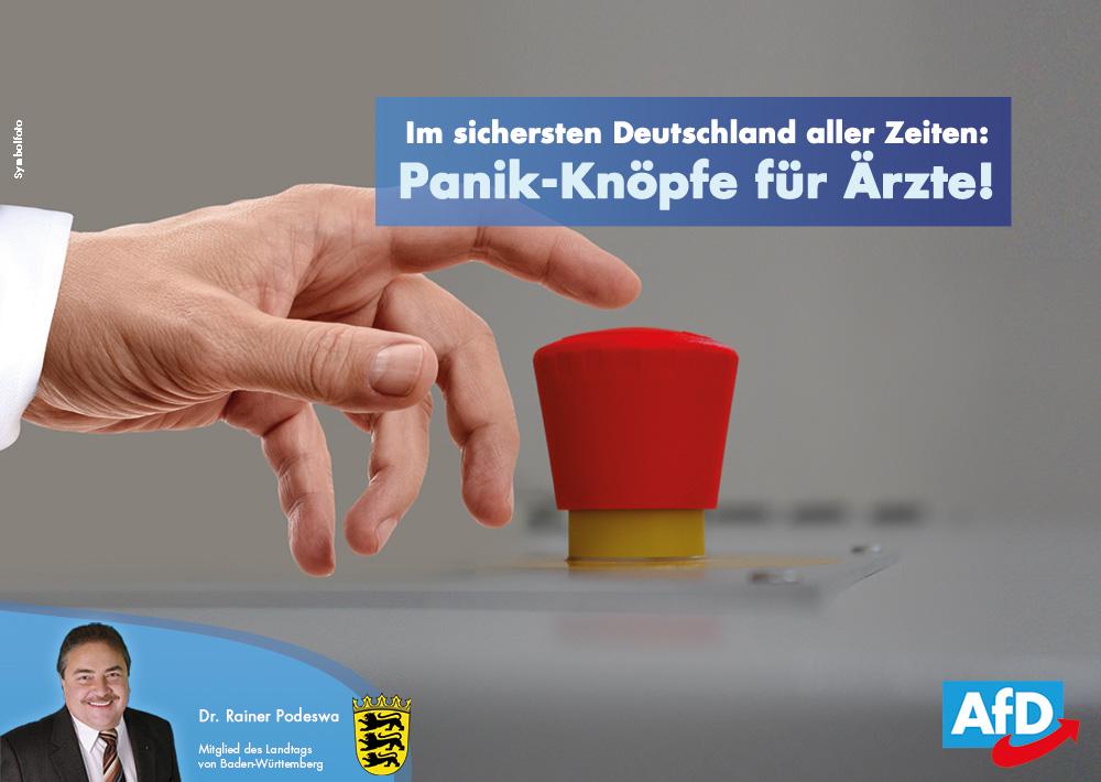 Im sichersten Deutschland: Alarmknöpfe in immer mehr Arztpraxen