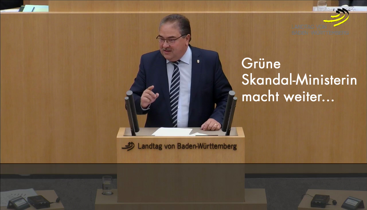 AfD fordert Entlassung der grünen Ministerin für Wissenschaft