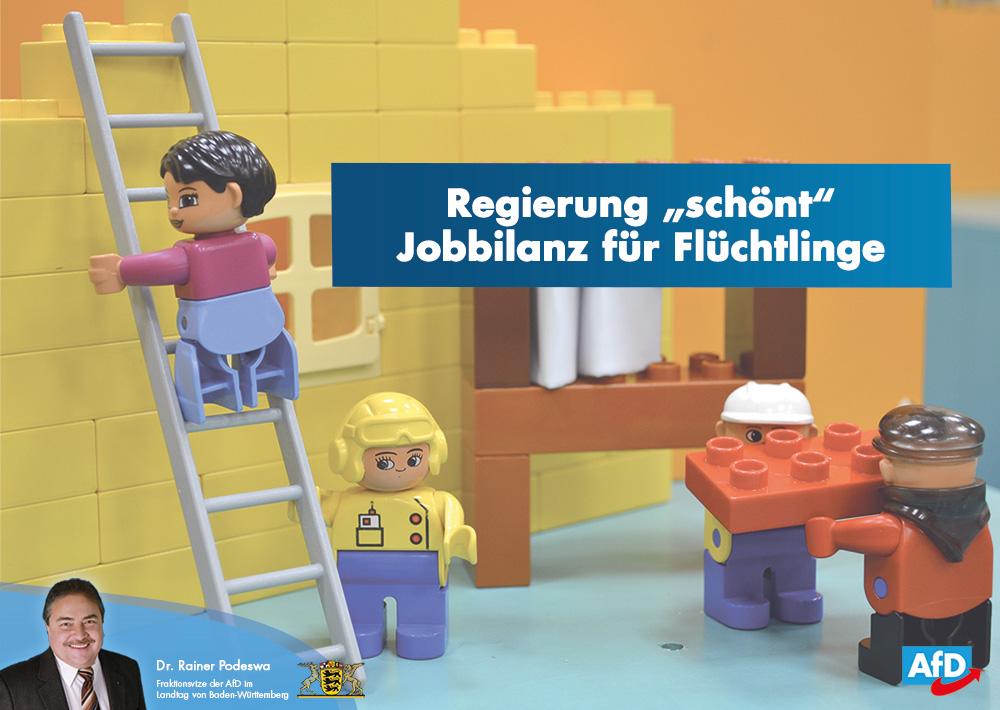 """Regierung """"schönt"""" Jobbilanz für Flüchtlinge"""