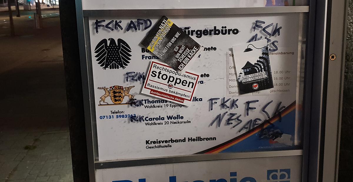 Möckmühl: Erwiderung auf die linke Hetze gegen die AfD