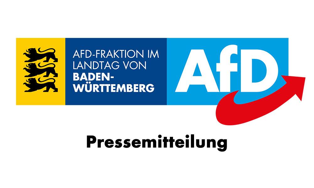 Pressemitteilung der AfD-Landtagsfraktion