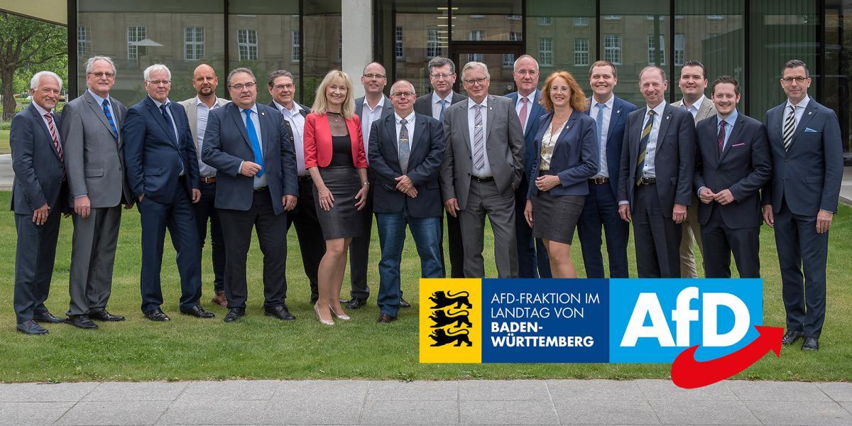 AfD-Landtagsfraktion in Stuttgart