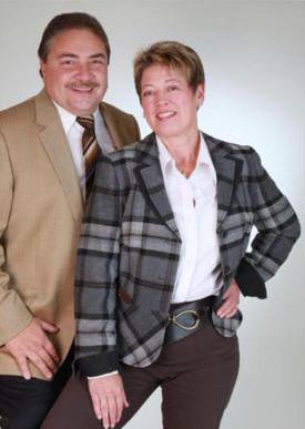 Dr. Rainer und Angela Podeswa