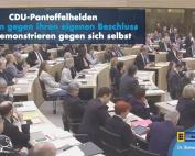 Narrenstreich der CDU-Pantoffelhelden