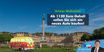 Grüner Wahnsinn: neues Auto ab 1130 Euro Einkommen