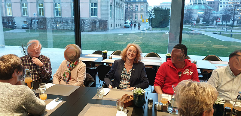 Besuchergruppe aus Neckarsulm und Ludwigsburg