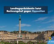Landtagspräsidentin hetzt Rechnungshof auf Opposition
