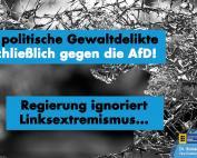 Grün-Schwarze Landesregierung nimmt gewalttätigen Linksextremismus nicht ernst