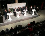 Mit Faschisten auf der Landtagsbühne...