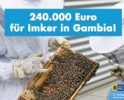 Landesregierung verschwendet Steuergeld für Imker in Gambia!