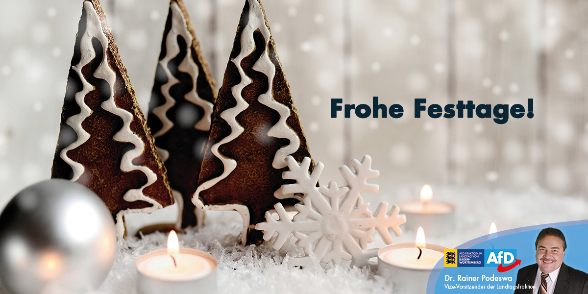 Herzliche Weihnachtsgrüße!