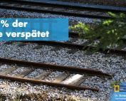 Heilbronn-Stuttgart: 18,5% der Züge verspätet