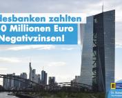 L-Bank und LBBW zahlten über 650 Millionen Euro Negativzinsen
