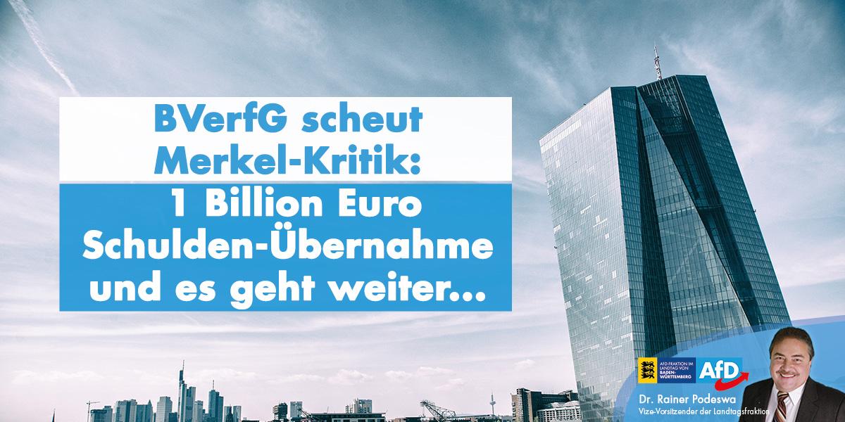 Bundesverfassungsgericht erlaubt weitere Staatsverschuldung und Gewinn-Privatisierung mit EZB-Ramschanleihen