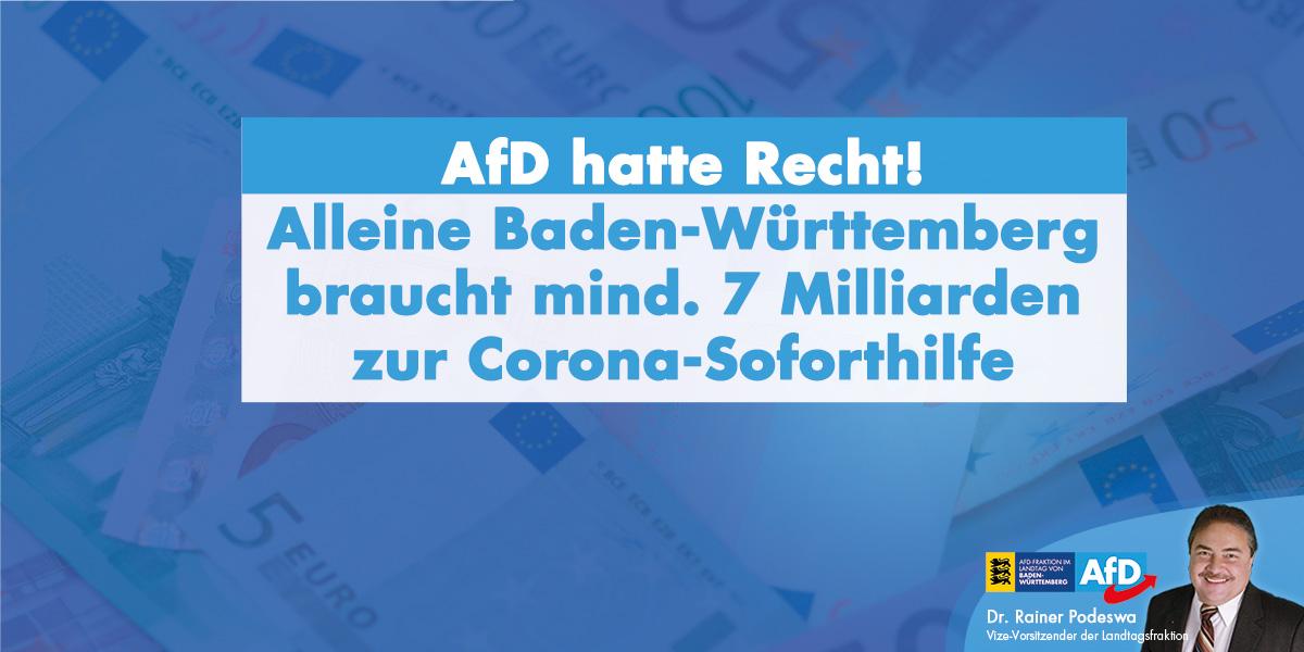 Dr. Rainer Podeswa: Woher nehmen Sie die Milliarden, Frau Sitzmann?