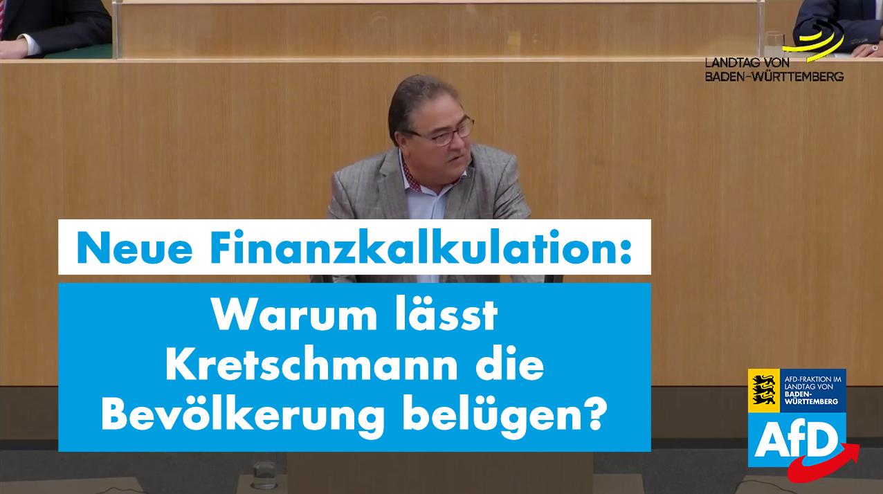 Warum lässt Kretschmann die Bevölkerung belügen?