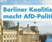 Konjunktur-Maßnahmen: Berliner Koalition macht AfD-Politik