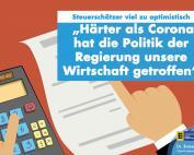 Dr. Rainer Podeswa: Steuerschätzer viel zu optimistisch