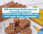 Dr. Rainer Podeswa: AfD will soziale Schutzklausel im Landesgrundsteuergesetz