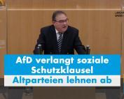 Dr. Rainer Podeswa MdL: Altparteien verhalten sich unsozial