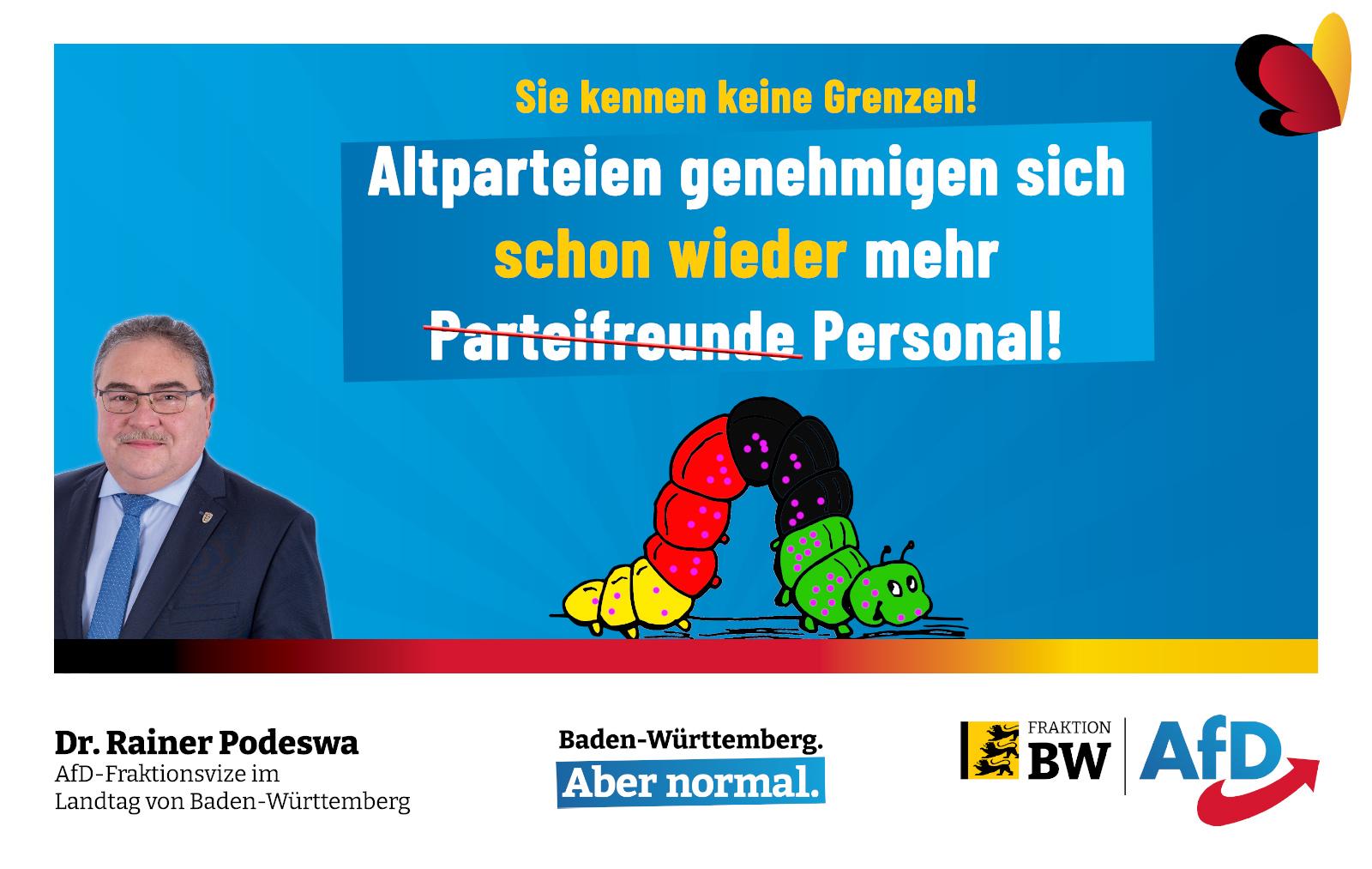 Dr. Rainer Podeswa: Die Raupe Nimmersatt ist bunt!