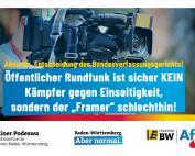 Dr. Rainer Podeswa: Sachsen-Anhalt sichert Rundfunkfreiheit, aber verletzt sie nicht