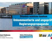 Dr. Rainer Podeswa: ARD muss Regierungskorrektiv sein!