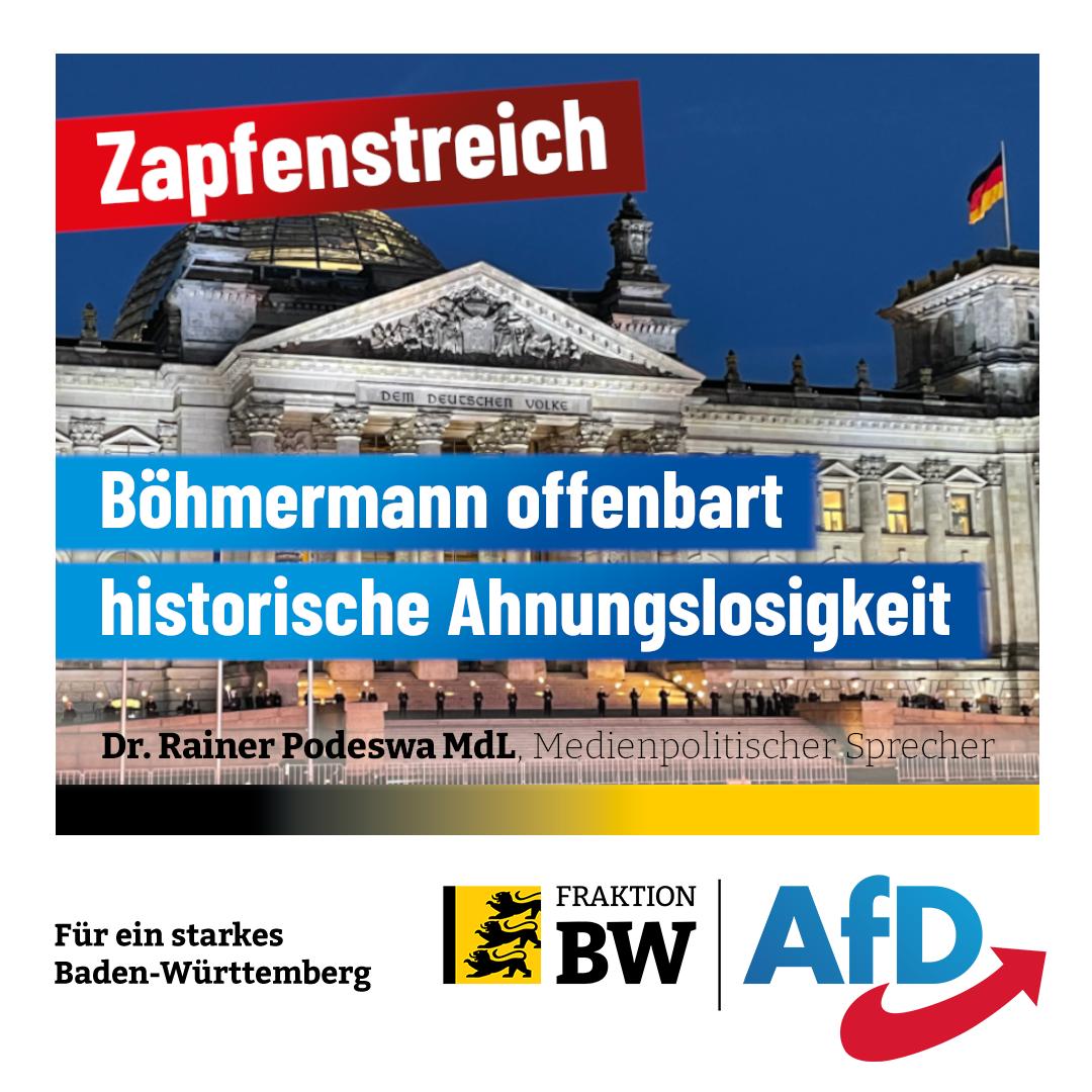 Dr. Rainer Podeswa: Böhmermann offenbart linke Geschichtsvergessenheit